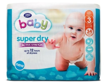 boot baby nappies